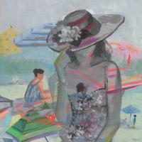 "Parvez Taj ""Hiding from the Sun"" 24-Inch x 24-Inch Canvas Print Wall Art"