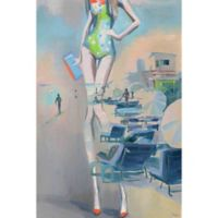 "Parvez Taj ""Sexy Seaside"" 12-Inch x 18-Inch Canvas Print Wall Art"