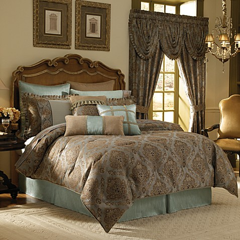 Croscill laviano comforter set bed bath beyond - Bed bath and beyond bedroom furniture ...