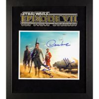 Star Wars: The Force Awakens Signed Daisy Ridley 15-Inch x 17-Inch Framed Movie Photo