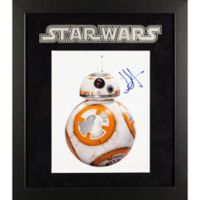 Star Wars Signed BB-8 J.J. Abrams 15-Inch x 17-Inch Framed Movie Photo