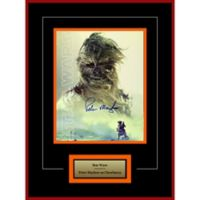 Star Wars Signed Peter Mayhew as Chewbacca 16-Inch x 20-Inch Framed Movie Photo