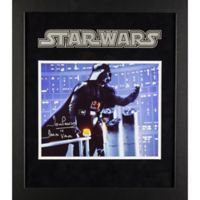 Star Wars Signed David Prowse as Darth Vader 15-Inch x 17-Inch Framed Movie Photo