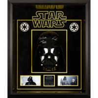Star Wars Signed David Prowse as Darth Vader 9-Inch x 10-Inch Wall Art