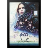 Rogue One: A Star Wars Story Cast Signed 9-Inch x 14-Inch Movie Poster