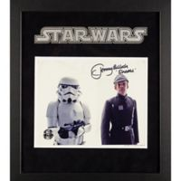 Star Wars Signed Tommy Bulloch as Sheckil 15-Inch x 17-Inch Framed Movie Photo