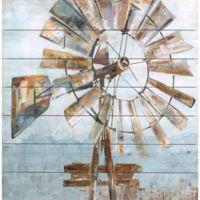 Windmill Wood Wall Art