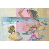 Marmont Hill Collective Parvez Taj Polka Dot Bikini 20-Inch x 30-Inch Canvas Wall Art