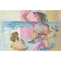 Marmont Hill Collective Parvez Taj Polka Dot Bikini 40-Inch x 60-Inch Canvas Wall Art