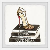Marmont Hill All About Fashion 24-Inch Square Framed Wall Art