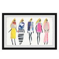Marmont Hill Nuevas Modas 18-Inch x 12-Inch Framed Wall Art
