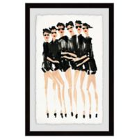 Marmont Hill Six Modeles 12-Inch x 18-Inch Framed Wall Art