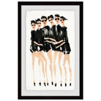 Marmont Hill Six Modeles 16-Inch x 24-Inch Framed Wall Art