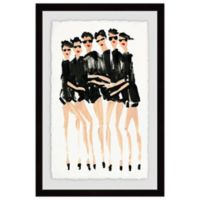Marmont Hill Six Modeles 24-Inch x 36-Inch Framed Wall Art