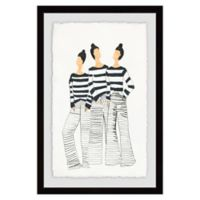 Marmont Hill Paris Style 18-Inch x 12-Inch Framed Wall Art