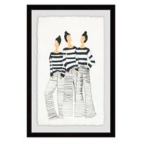 Marmont Hill Paris Style 24-Inch x 16-Inch Framed Wall Art