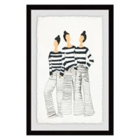 Marmont Hill Paris Style 30-Inch x 20-Inch Framed Wall Art