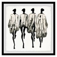 Marmont Hill Collective Graue Farbtone 24-Inch Square Framed Wall Art