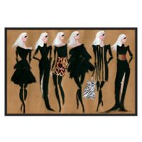Marmont Hill Collective Glam Night Canvas 45-Inch x 30-Inch Framed Wall Art