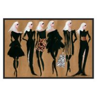 Marmont Hill Collective Glam Night Canvas 60-Inch x 40-Inch Framed Wall Art