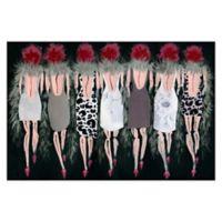 Marmont Hill Collective Razzle Dazzle 18-Inch x 12-Inch Canvas Wall Art