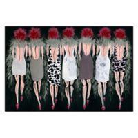 Marmont Hill Collective Razzle Dazzle 24-Inch x 16-Inch Canvas Wall Art