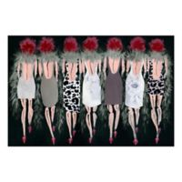 Marmont Hill Collective Razzle Dazzle 30-Inch x 20-Inch Canvas Wall Art