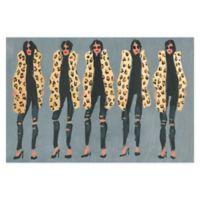 Marmont Hill Collective Cheetah and Jeans 24-Inch x 16-Inch Canvas Wall Art