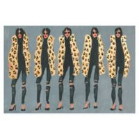 Marmont Hill Collective Cheetah and Jeans 30-Inch x 20-Inch Canvas Wall Art
