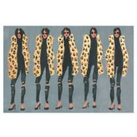 Marmont Hill Collective Cheetah and Jeans 45-Inch x 30-Inch Canvas Wall Art