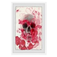 Marmont Hill Collective Skull II 12-Inch x 18-Inch Framed Wall Art
