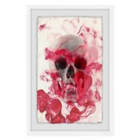 Marmont Hill Collective Skull II 20-Inch x 30-Inch Framed Wall Art