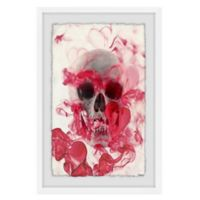 Marmont Hill Collective Skull II 40-Inch x 60-Inch Framed Wall Art