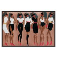 Marmont Hill Collective Scintillation 24-Inch x 16-Inch Framed Wall Art