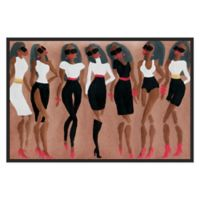 Marmont Hill Collective Scintillation 30-Inch x 20-Inch Framed Wall Art