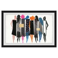 Marmont Hill Collective The Catwalk 12-Inch x 18-Inch Framed Wall Art