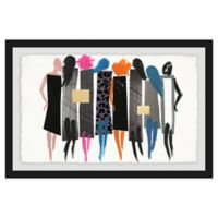 Marmont Hill Collective The Catwalk 24-Inch x 16-Inch Framed Wall Art