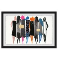 Marmont Hill Collective The Catwalk 30-Inch x 20-Inch Framed Wall Art