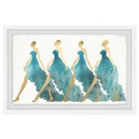 Marmont Hill Collective Blue Obsession 20-Inch x 30-Inch Framed Wall Art