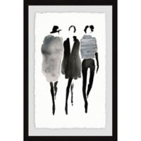Marmont Hill Collective Mode Noir 24-Inch x 36-Inch Framed Wall Art