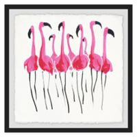 Marmont Hill 18-Inch Square Flamboyance Framed Wall Art