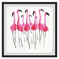 Marmont Hill 24-Inch Square Flamboyance Framed Wall Art