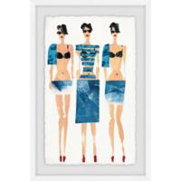 Marmont Hill Sexy Blues 40-Inch x 60-Inch Framed Wall Art