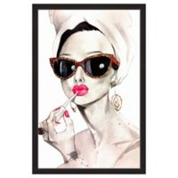 Marmont Hill Audrey Hepburn 20-Inch x 30-Inch Framed Wall Art