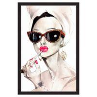 Marmont Hill Audrey Hepburn 40-Inch x 60-Inch Framed Wall Art
