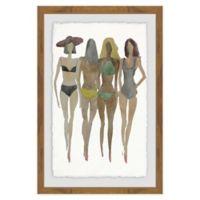 Marmont Hill Beach 12-Inch x 18-Inch Framed Wall Art