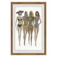 Marmont Hill Beach 16-Inch x 24-Inch Framed Wall Art