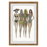 Marmont Hill Beach 20-Inch x 30-Inch Framed Wall Art