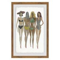 Marmont Hill Beach 24-Inch x 36-Inch Framed Wall Art