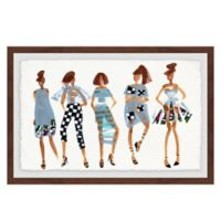 Marmont Hill What's In 18-Inch x 12-Inch Framed Wall Art